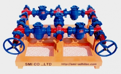 High pressure flow line casting equipments oil & gas industry